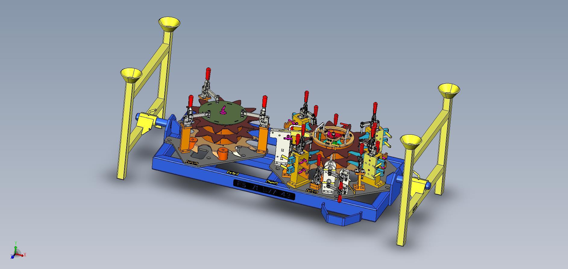 CAD-Konstruktion, fertig zur Durchsprache