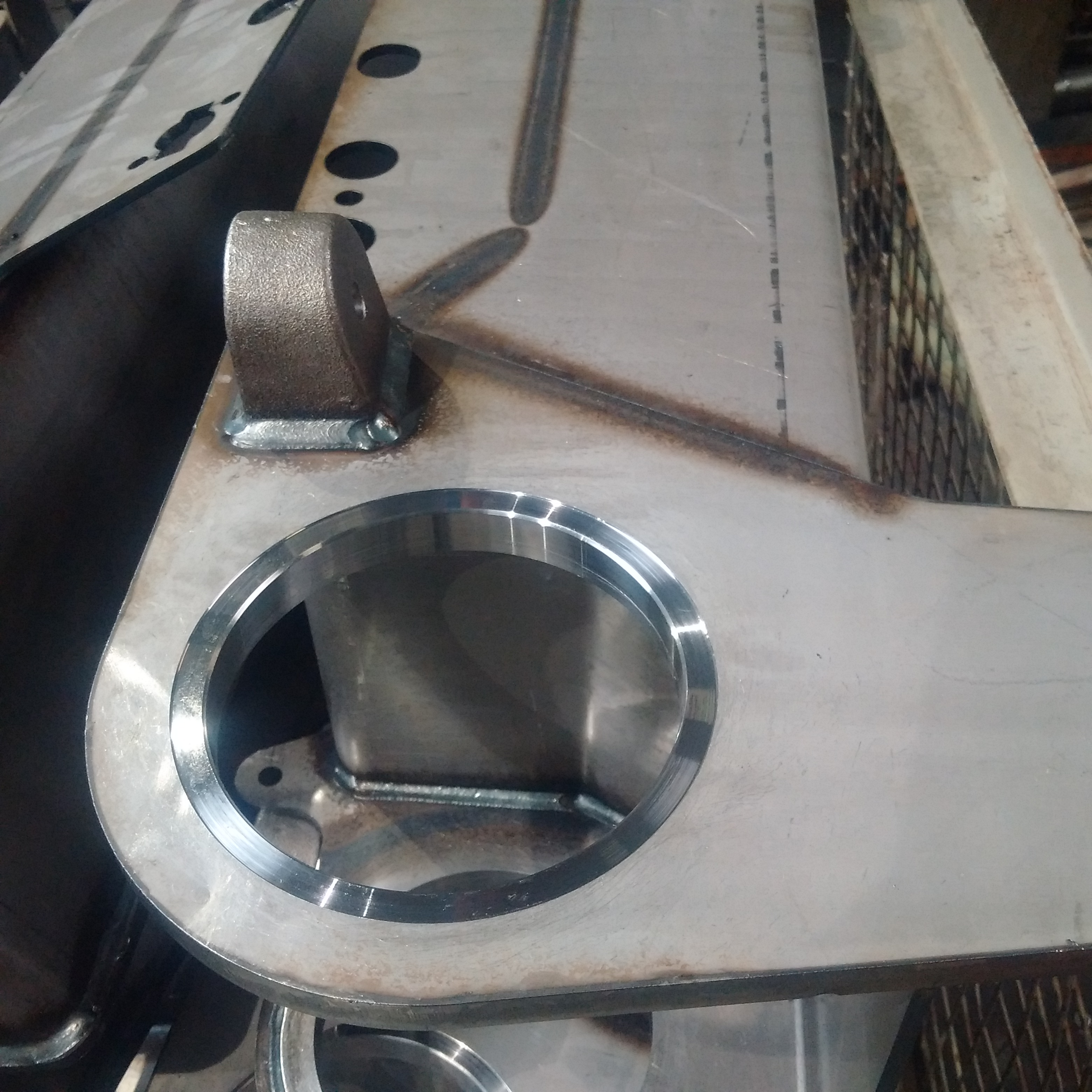 CNC-bearbeitete Lager-Sitze mit H7-Passung